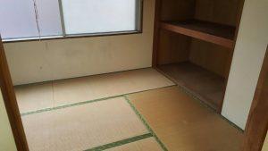 アパート残置物回収作業 横浜市