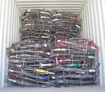 放置自転車・放置バイクの処理
